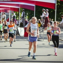 Lattelecom Riga Marathon - Anna Faithfull (326), Kauko Isomäki (1896)