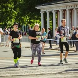 Lattelecom Riga Marathon - Dārta Riekstiņa (5544), Agnese Uzrauga (6045)