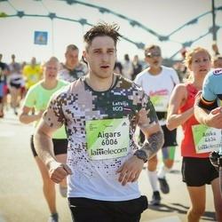 Lattelecom Riga Marathon - Steven Delmotte (825), Aigars Čodars (6006)