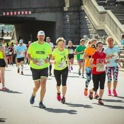 Lattelecom Riga Marathon - Estere Cīrule (3263), Oskars Cīrulis (3264), Frančeska Pranča (5288)