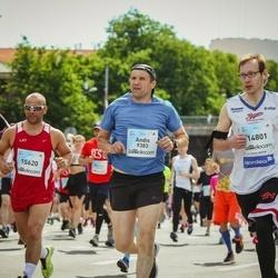 Lattelecom Riga Marathon - Andis Pāže (9383), Māris Šteinerts (14801), Ainars Matisons (15620)