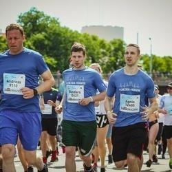 Lattelecom Riga Marathon - Agnis Drežis (12405), Gundars Lisovskis (12421)