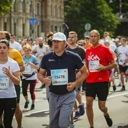 Lattelecom Riga Marathon - Una Muriņa (14151), Agnis Gailītis (15478)