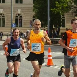 Lattelecom Riga Marathon - Emīls Kravalis (11315), Pēteris Trubačs (11404), Andrea Appolonio (11453)