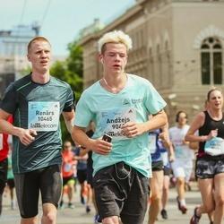 Lattelecom Riga Marathon - Andžejs Siliņš (9048), Renārs Strupulis (10465)