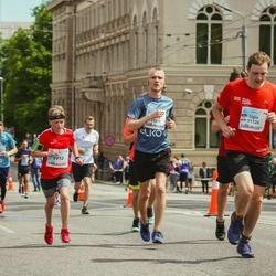Lattelecom Riga Marathon - Kristofers Kanenbergs (9913), Gatis Rīders (11011)