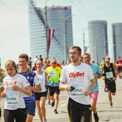 Lattelecom Riga Marathon - Mārtiņš Mežviets (13963), Anita Mežviete (13964)