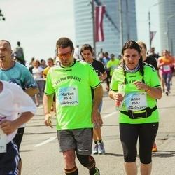 Lattelecom Riga Marathon - Anke Doant (9532), Markus Männecke (9534)