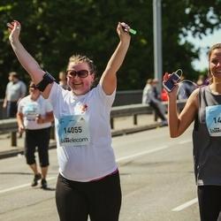Lattelecom Riga Marathon - Aiga Lesiņa (14051), Liene Rūsiņa (14055)
