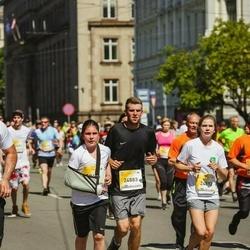 Lattelecom Riga Marathon - Matīss Štekerhofs (18444), Markuss Maksimovs (24883), Agnese Dimante (24892)