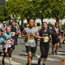 Lattelecom Riga Marathon - Sangheyop Lee (18350), Anna Sverčkova (20952), Rita Pauliņa (23689)