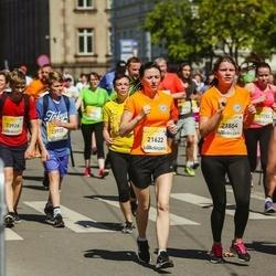 Lattelecom Riga Marathon - Kristīne Doropoļska (21554), Evija Popa (21622)