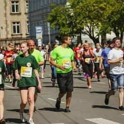 Lattelecom Riga Marathon - Evelīna Šneidere (25057), Linards Dauksts (25059)