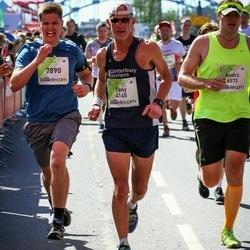 Lattelecom Riga Marathon - Tony Savage (4145), Felix Schiepek (7890)