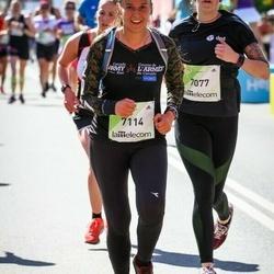 Lattelecom Riga Marathon - Elīna Else (7077), Anita Hunter (7114)