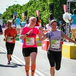 Lattelecom Riga Marathon - Mairi Roosi (4593), Anne-Liis Tamm (4732)