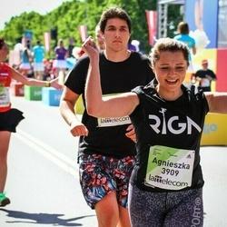 Lattelecom Riga Marathon - Gunārs Velde (3618), Agnieszka Kolenda (3909)