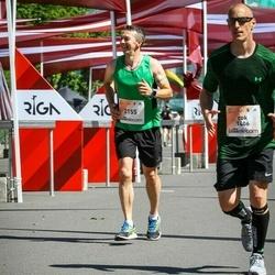 Lattelecom Riga Marathon - Rok Dolenc (1406), Ainārs Brahmanis (2155)