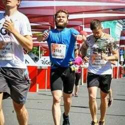 Lattelecom Riga Marathon - Deivids Stupiņš (1404), Alvis Reinbergs (2102)