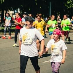 Lattelecom Riga Marathon - Marina Terjoškina (21280), Anastasija Terjoškina (21289)