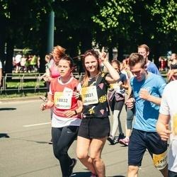 Lattelecom Riga Marathon - Agnese Pēča (18831), Ģertrūde Knaģe (18832)