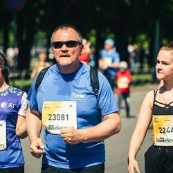 Lattelecom Riga Marathon - Laura Keita Arājuma (20229), Alīna Borisova (22440), Andis Steķis (23081)