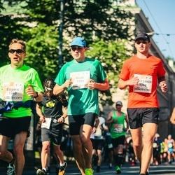 Lattelecom Riga Marathon - Vitali Rabtsau (1185), Edgars Dzenuška (1340), Aliaksandr Grachulin (1388)