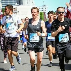 Lattelecom Riga Marathon - Alfrēds Radvils (9073), Aivars Sprukts (15495)