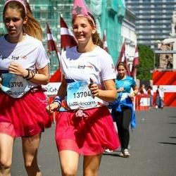 Lattelecom Riga Marathon - Katrīna Kļava (13704), Anna Poļakova (13705)