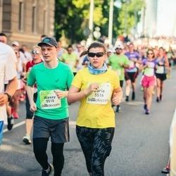 Lattelecom Riga Marathon - Alexey Belousov (5515), Daria Pushko (5516)