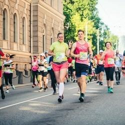 Lattelecom Riga Marathon - Toms Biders (6008), Elza Žumbure (6009)