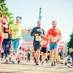 Lattelecom Riga Marathon - Aldona Andriuskiene (4191), Agris Belte (6947), Georgs Avetisjans (6948)