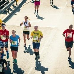 Lattelecom Riga Marathon - Jānis Dūka (1426), Sandis Čilipāns (6646), Anna Dickinger (6906)