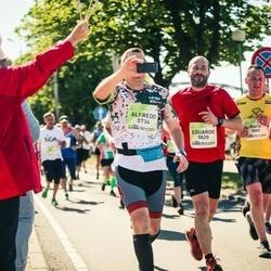 Lattelecom Riga Marathon - Māris Ansons-Jansons (3882), Alfredo Sanchez Sender (5734), Eduardo Gonzalez Garcia (5820)