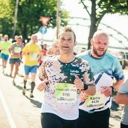 Lattelecom Riga Marathon - Francisco Jose Iglesias Valcuende (5755), Kārlis Garokalns (6434)