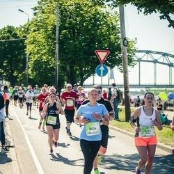 Lattelecom Riga Marathon - Andra Pētersone (5163), Anita Zakse (8034)