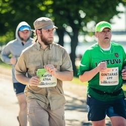 Lattelecom Riga Marathon - Gintaras Rasymas (699), Karlis Bergmanis (4964)