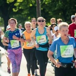 Lattelecom Riga Marathon - Ņina Flaksmane (6177), Agnese Gaile (7127), Jānis Bērzkalns (7294)
