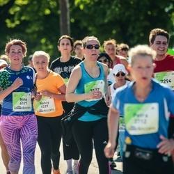 Lattelecom Riga Marathon - Ņina Flaksmane (6177), Nancy Einberg (6229), Agnese Gaile (7127), Jānis Bērzkalns (7294)
