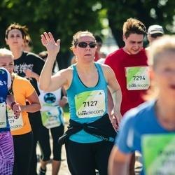 Lattelecom Riga Marathon - Ņina Flaksmane (6177), Agnese Gaile (7127)