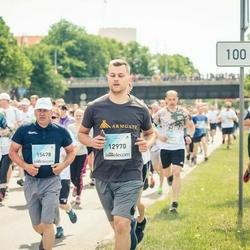 Lattelecom Riga Marathon - Roberts Fridrihsons (12970), Agnis Gailītis (15478)