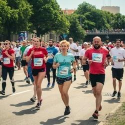 Lattelecom Riga Marathon - Agnija Medne (13885), Elīna Kreice (14388), Kaspars Kreics (14992)