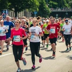 Lattelecom Riga Marathon - Diāna Šukajeva (14259), Agne Seli (14766)