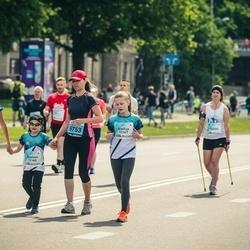Lattelecom Riga Marathon - Elīna Paliepa (12366), Emīlija Paliepa (12367), Gustavs Palieps (12368)