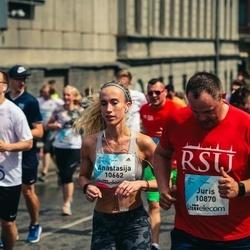 Lattelecom Riga Marathon - Anastasija Sotskova (10662), Juris Zīvarts (10870)