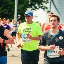 Lattelecom Riga Marathon - Erkki Leek (10102), Hennik Penek (10103)