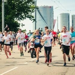 Lattelecom Riga Marathon - Sonora Balode (11789), Mārtiņš Mežviets (13963), Anita Mežviete (13964)