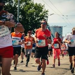 Lattelecom Riga Marathon - Aiga Trumpika (9011), Ainārs Liljē (9012)