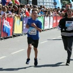 Lattelecom Riga Marathon - Ernests Kļava (14769), Jana Kmite (15769)