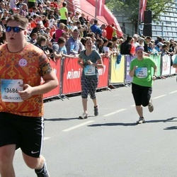 Lattelecom Riga Marathon - Aija Valtere (9138), Julia Moedritscher (9569), Katsiaryna Davydzenka (11401)